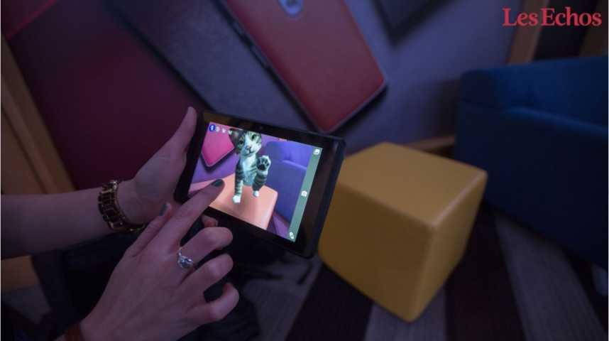 Illustration pour la vidéo Le futur des smartphones passe par la réalité augmentée