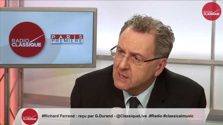 """Illustration pour la vidéo """"Il était normal que  Bruno Le Roux démissionne"""" Richard Ferrand (22/03/2017)"""
