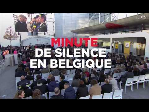 Belgique : minute de silence à l'aéroport et à la station Maelbeek, un an après les attaques