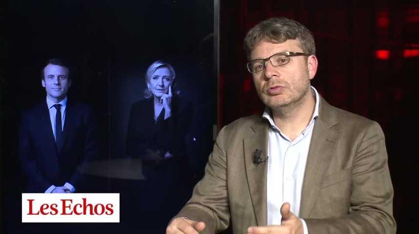 """Illustration pour la vidéo Présidentielle : """"Macron dispose d'une meilleure réserve de voix pour le second tour"""""""