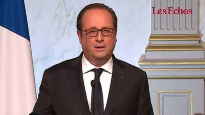 """Illustration pour la vidéo François Hollande : """"Je voterai Emmanuel Macron"""""""