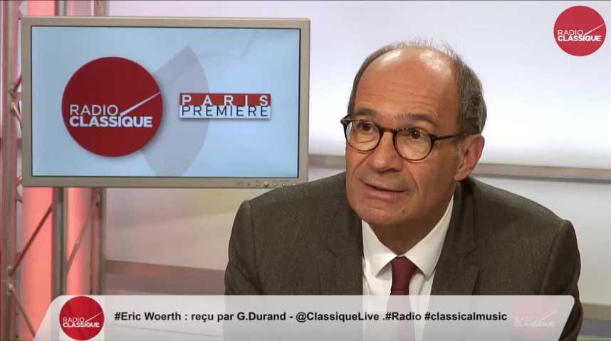 """Illustration pour la vidéo """"Les législatives sont  gagnables pour les Republicains """" Eric Woerth (24/04/2017)"""
