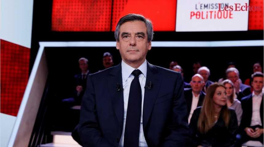 Illustration pour la vidéo Sur France 2, François Fillon attaque à tout-va