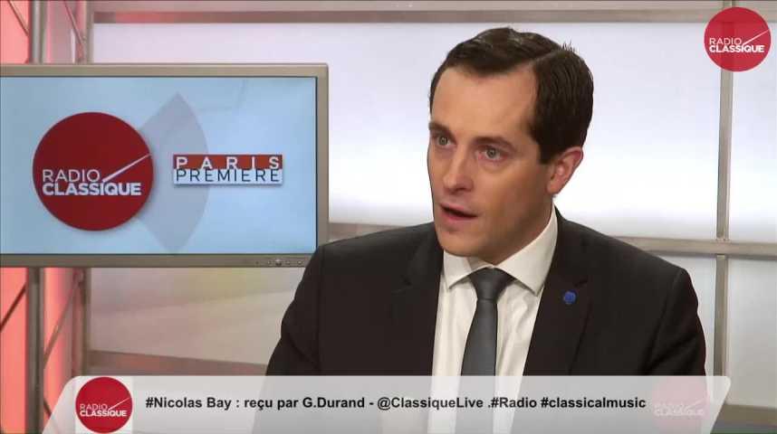 """Illustration pour la vidéo """"Emmanuel Macron ce n'est pas le renouveau, c'est le recyclage"""" Nicolas Bay (24/03/2017)"""