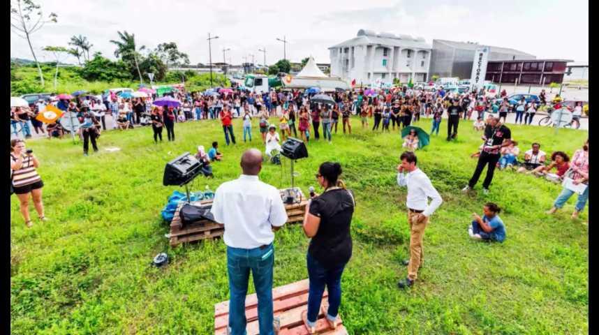 Illustration pour la vidéo La crise sociale en Guyane, en trois questions