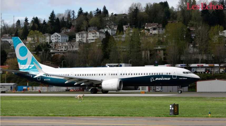 Illustration pour la vidéo Vol inaugural réussi pour le Boeing 737 MAX 9