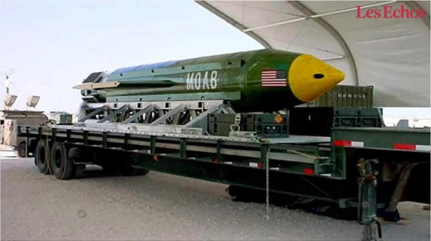 """Illustration pour la vidéo Afghanistan: Washington largue """"la mère de toutes les bombes"""" sur l'EI"""