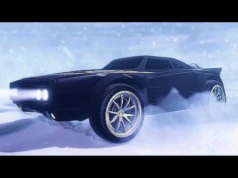 ROCKET LEAGUE - The Fate of the Furious Trailer (New DLC)