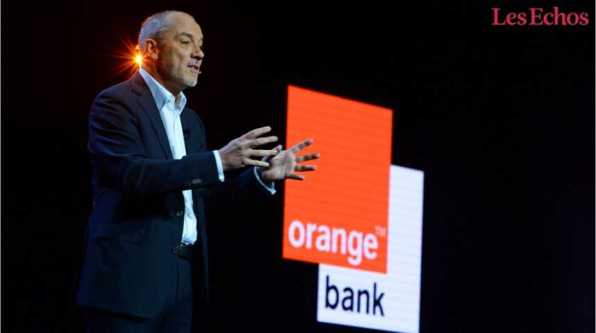 Illustration pour la vidéo Orange part à l'assaut du secteur bancaire
