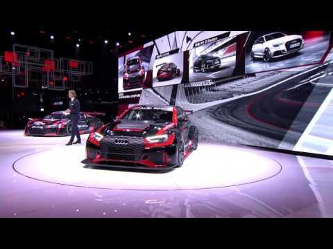 Audi Sport press conference Shanghai 2017 - highlights | AutoMotoTV