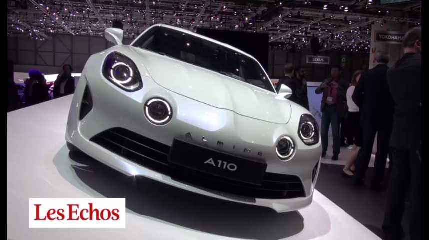 Illustration pour la vidéo Renault Alpine fait revivre sa mythique A110