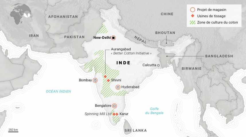 Illustration pour la vidéo Comment Ikea va s'implanter en Inde
