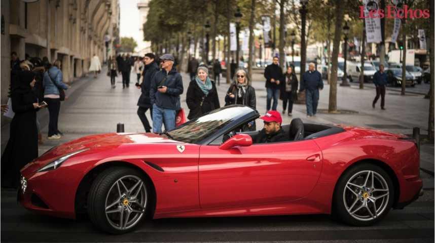 Illustration pour la vidéo Le marché français tourne le dos aux voitures de luxe