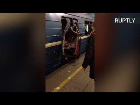 Bomb Explodes in Saint Petersburg Metro Station, Killing 10 and Injuring Dozens