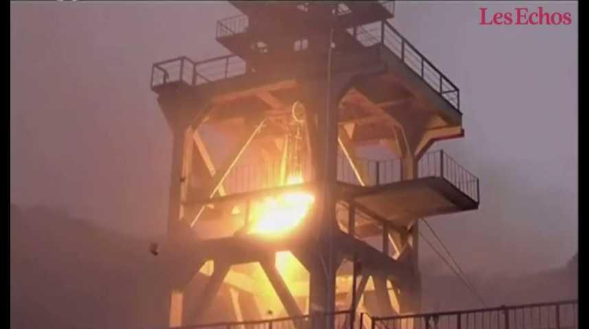 Illustration pour la vidéo La Corée du Nord a testé un nouveau moteur de fusée