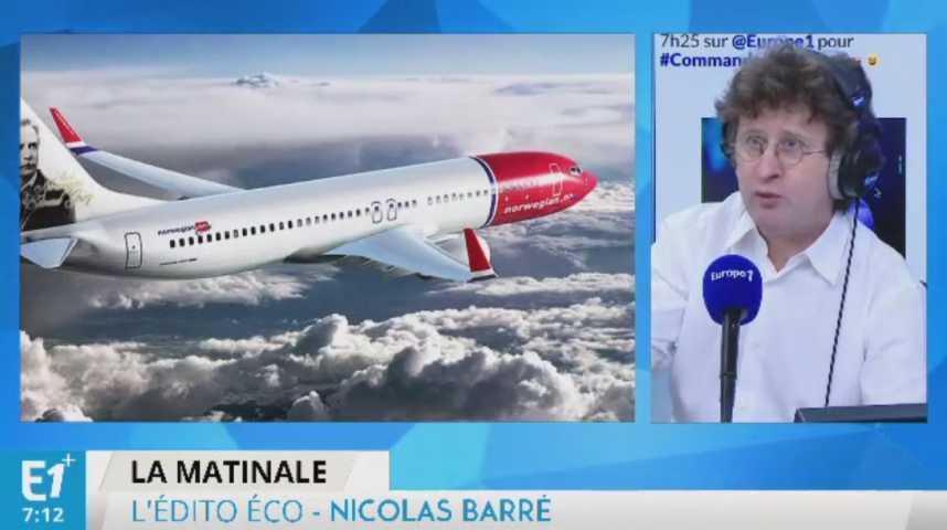 Illustration pour la vidéo Le low cost s'attaque maintenant aux vols transatlantiques