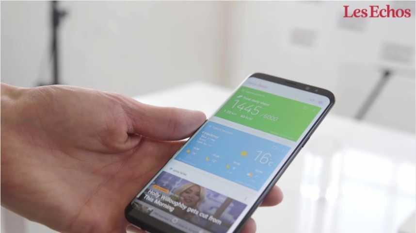 Illustration pour la vidéo Découvrez le Samsung Galaxy S8
