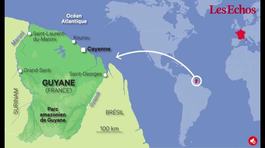 Illustration pour la vidéo Guyane : comprendre les inégalités entre Paris et Cayenne