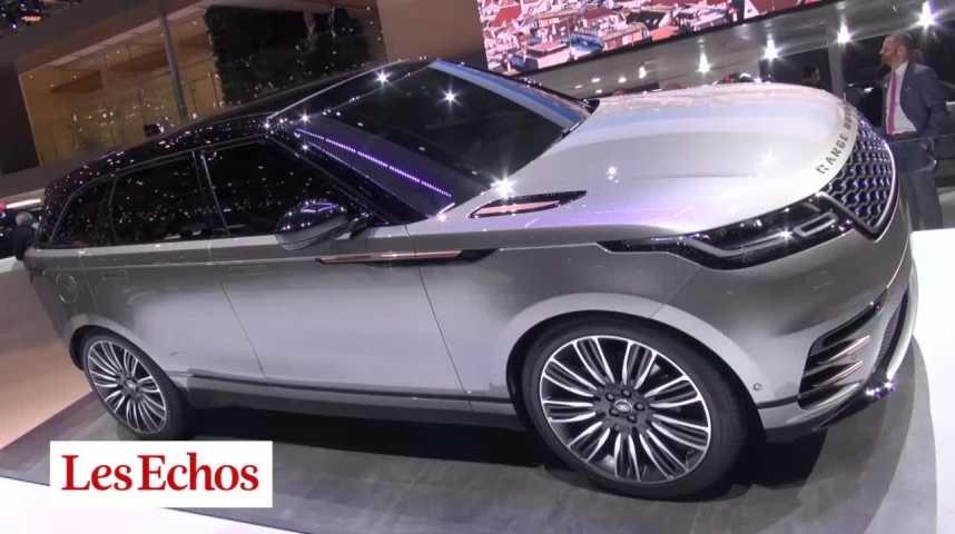 Illustration pour la vidéo A Genève, Range Rover dévoile son nouveau SUV Velar