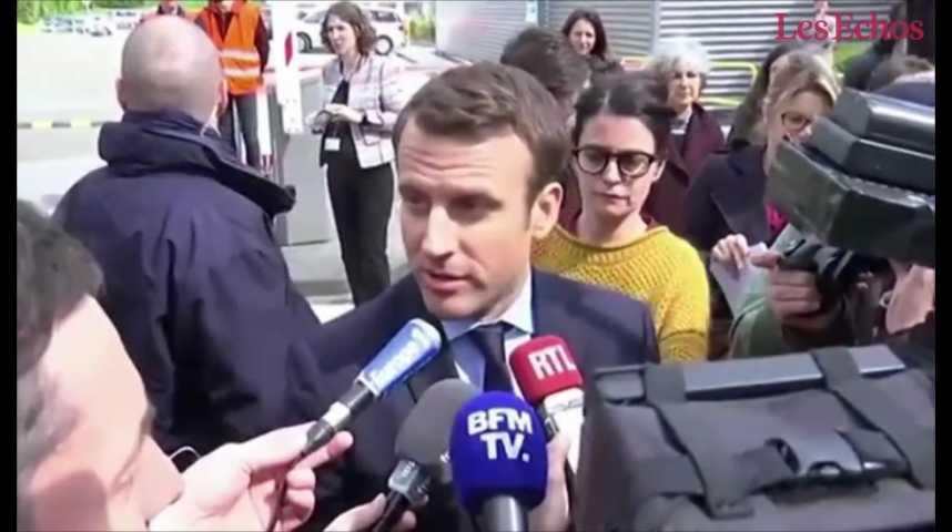 Illustration pour la vidéo Attentat déjoué : les réactions de Macron, Fillon et Mélenchon