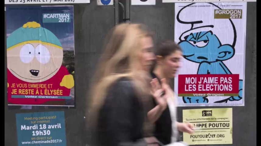 Illustration pour la vidéo Etats-Unis : la présidentielle en France jugée plus dangereuse que la victoire de Trump