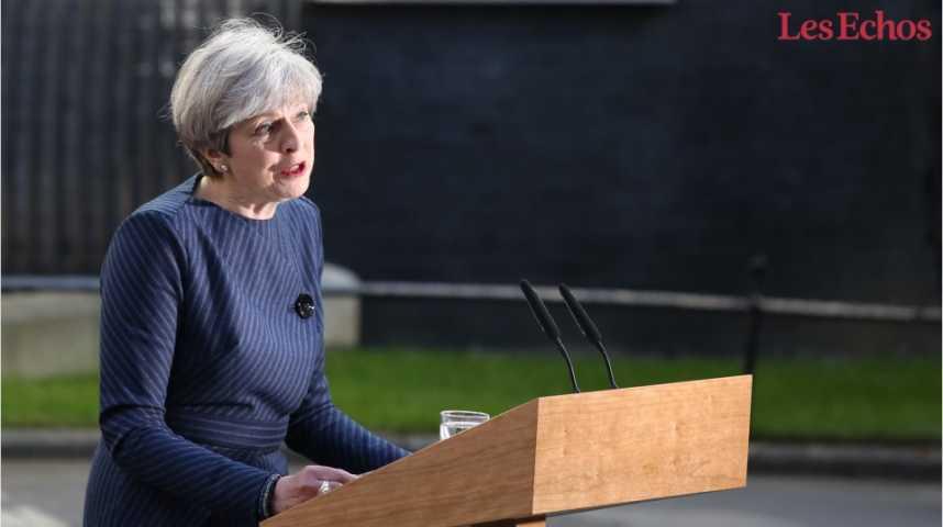 Illustration pour la vidéo Elections anticipées au Royaume-Uni