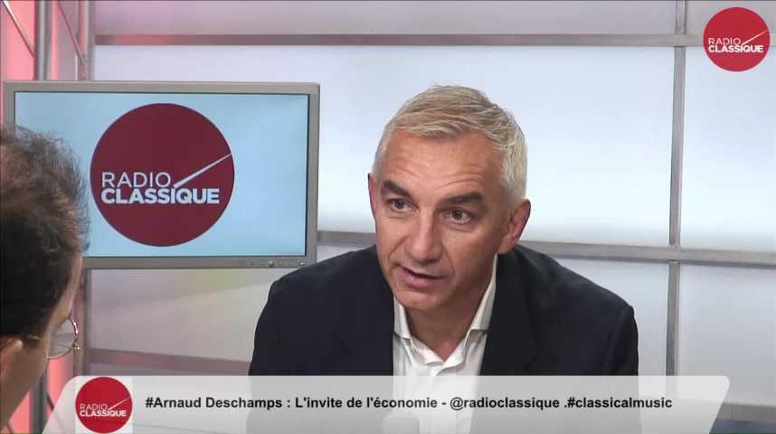 """Illustration pour la vidéo """"On ne touchait pas du tout le public qui buvait du grand café"""" Arnaud Deschamps (10/10/2016)"""