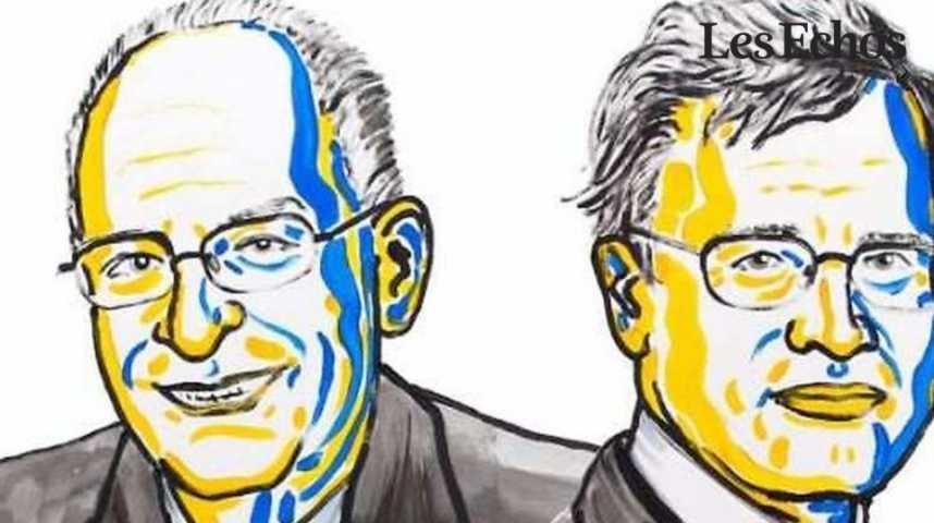 Illustration pour la vidéo Deux chercheurs reçoivent le prix Nobel d'économie pour leurs travaux sur la théorie du contrat