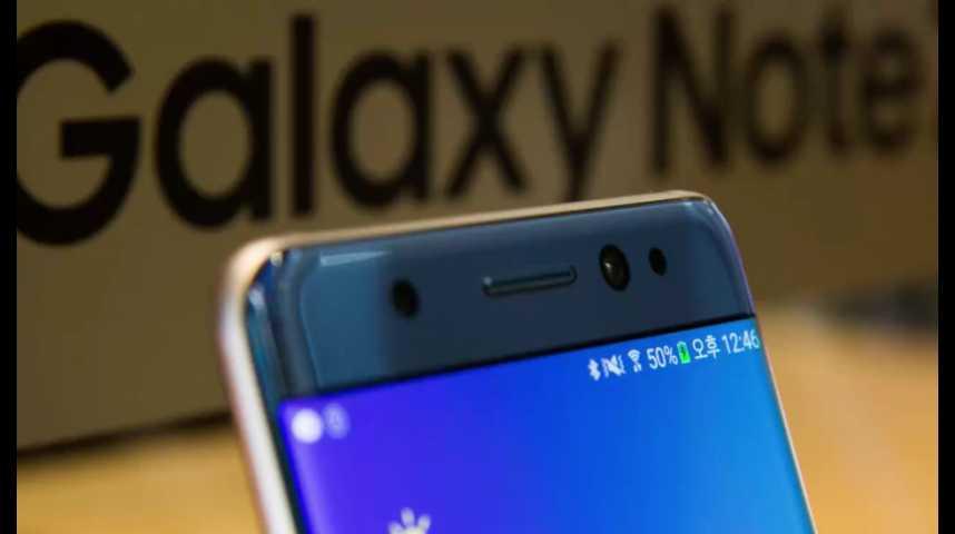 Illustration pour la vidéo Samsung chahuté en Bourse après la suspension du Galaxy Note 7