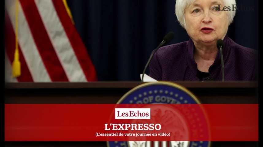 Illustration pour la vidéo L'Expresso du 12 octobre 2016 : que vont révéler les minutes de la Fed ?