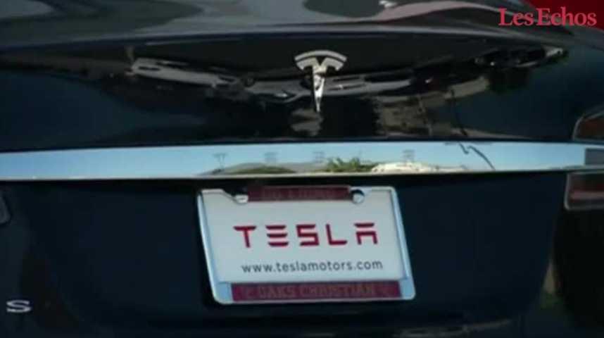 Illustration pour la vidéo Tesla veut généraliser la conduite autonome