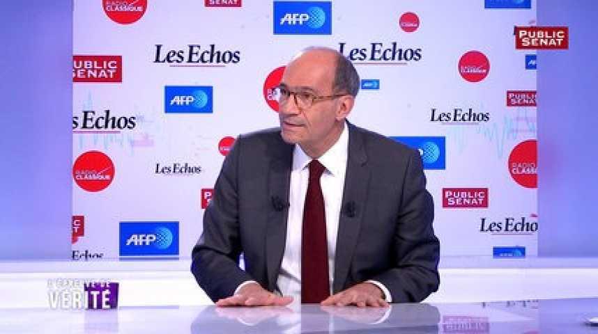 Illustration pour la vidéo Eric Woerth sur Public Sénat : «Quoi qu'il dise, François Hollande n'est plus audible»