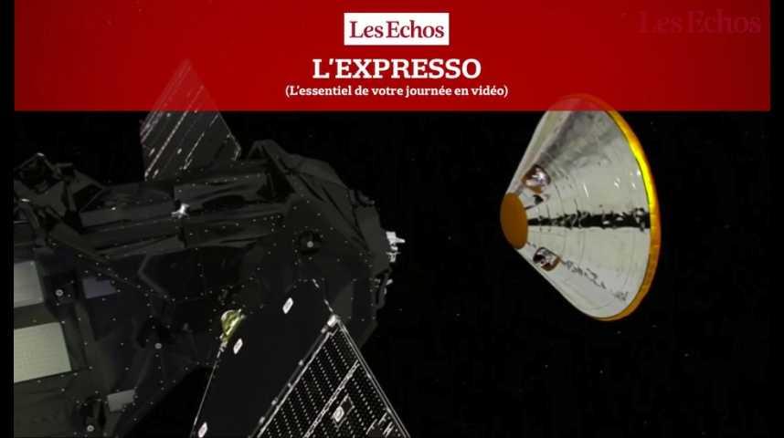 Illustration pour la vidéo L'Expresso du 19 octobre 2016 : L'Europe se fixe un rendez-vous historique avec Mars...