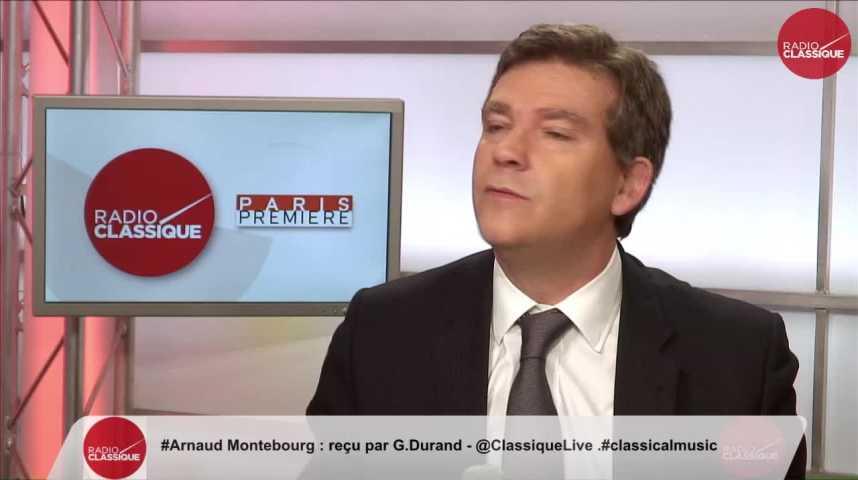 """Illustration pour la vidéo """"Le seul endroit où le taux de chômage est le même depuis 10 ans, c'est la zone Euro"""" Arnaud Montebourg (27/10/2016) Partie 1"""