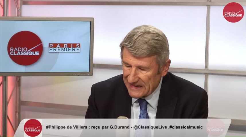 """Illustration pour la vidéo """"Entre le Coran et la France, il faut choisir"""" Philippe de Villiers (03/11/2016)"""