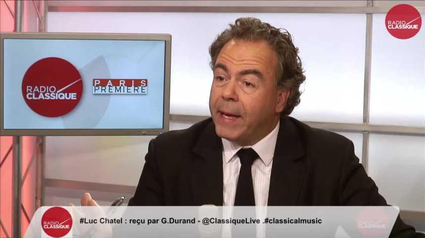 """Illustration pour la vidéo """"Le premier débat de la primaire de droite a permis d'avoir des réponses de qualités"""" Luc Chatel (02/11/2016)"""