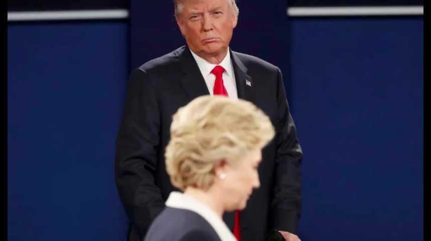Illustration pour la vidéo Trump repasse devant Clinton dans un sondage