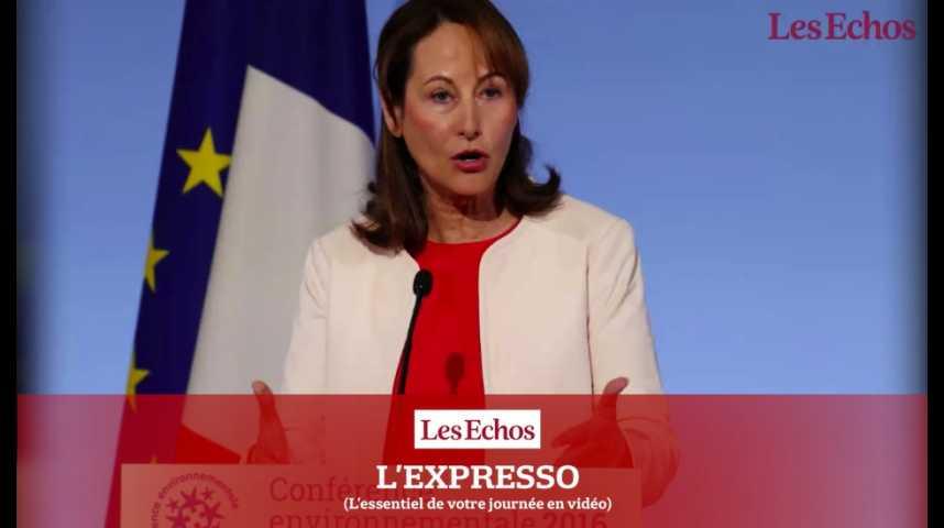 Illustration pour la vidéo L'Expresso du 4 novembre 2016 : COP21, l'accord de Paris entre en vigueur...