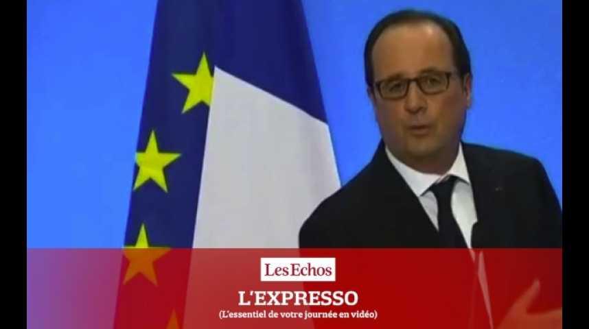 Illustration pour la vidéo L'Expresso du 25 octobre 2016 : Les chiffres de d'emploi, un rendez-vous hautement politique pour Hollande...