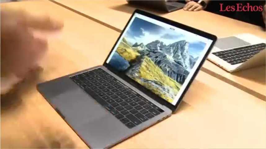 Illustration pour la vidéo Apple dévoile son nouveau MacBook Pro
