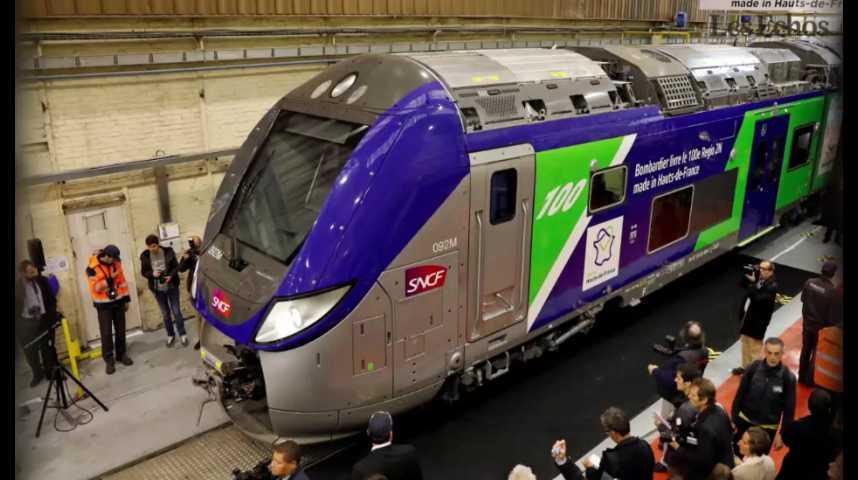 Illustration pour la vidéo Après Alstom, Bombardier France inquiète