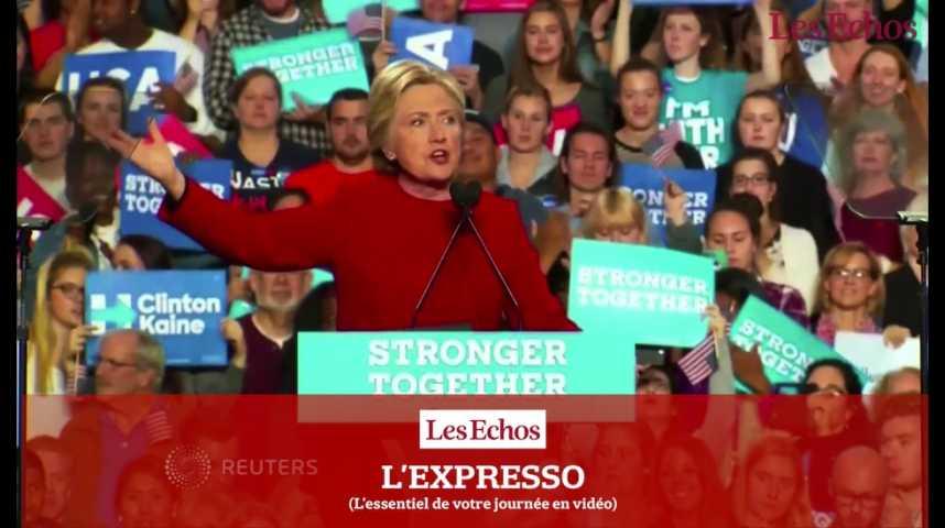 Illustration pour la vidéo L'Expresso du 8 novembre 2016 : Jour-J pour les élections américaines...