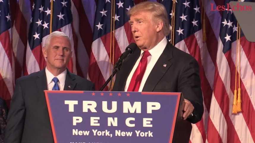 Illustration pour la vidéo Faites connaissance avec Donald Trump et découvrez son plan pour l'Amérique
