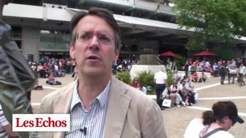 Illustration pour la vidéo Denjean Associés à Roland Garros