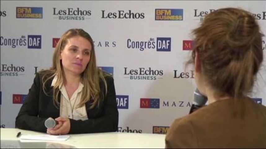 Illustration pour la vidéo Fatine Layt, présidente d'Oddo Corporate France