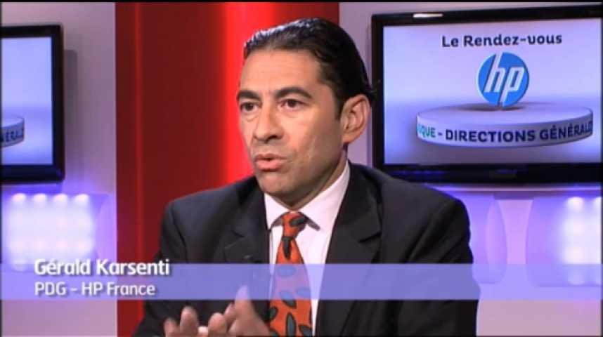 Illustration pour la vidéo Le marché IT vu par HP France