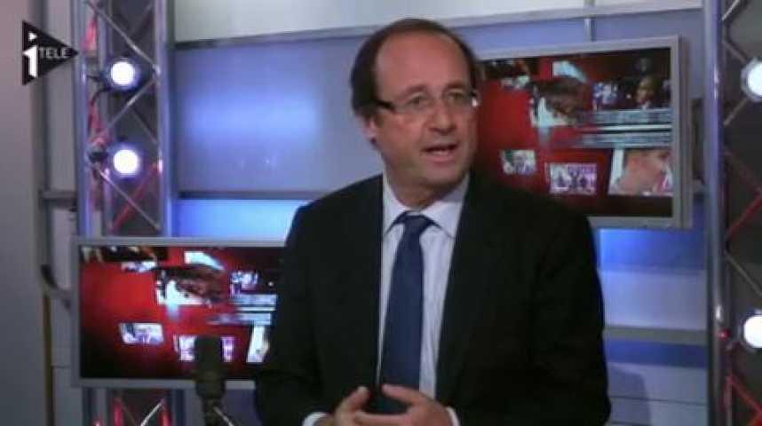 Illustration pour la vidéo François Hollande était l'invité de Guillaume Durand et Michael Darmon