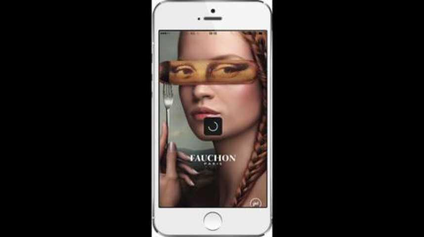 Illustration pour la vidéo Luxe : Fauchon courtise les mobinautes