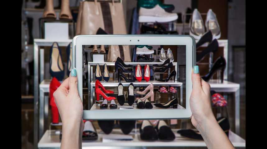 """Illustration pour la vidéo S. Treppoz (Sarenza) : """"Acheter ses chaussures sur Internet, c'est une question de mentalité"""""""