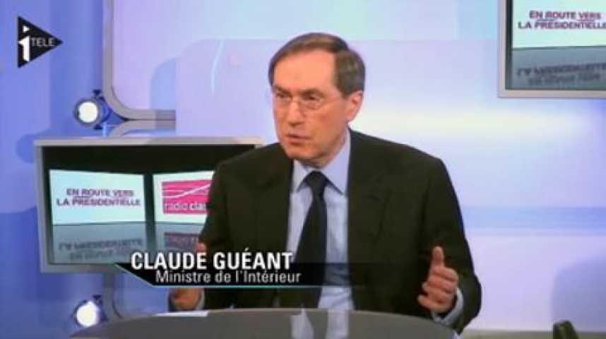 Illustration pour la vidéo Claude Guéant était l'invité de Guillaume Tabard et Michael Darmon